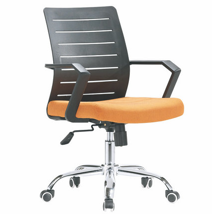 China swivel mesh office staff operator chair rolling armcha