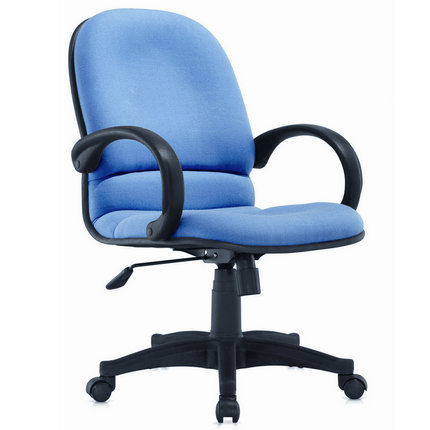 China CIFF Office Low Back Mesh Fabric Swivel Employee Chair