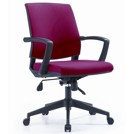 Guangzhou Low-back Swivel Lift Armrest Staff Office Chair