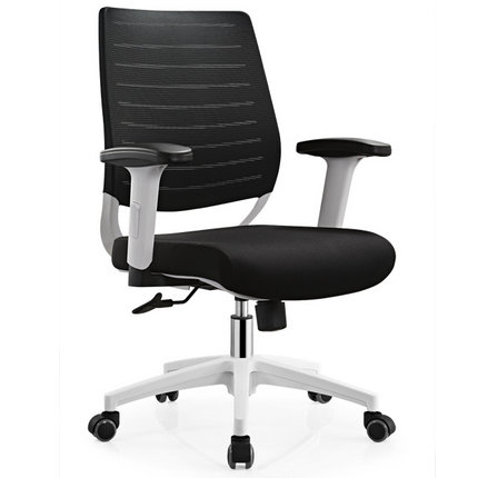 Foshan black office task computer chair employee moving seat