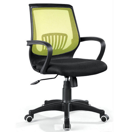 Factory fabric office seating mesh staff task chair armrest