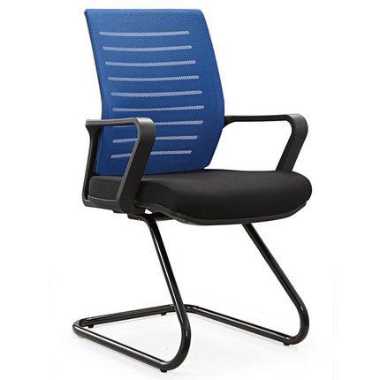 China no wheel bow metal meeting conference reception chair