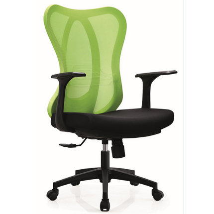 Foshan factory staff task seats black plastic office chair