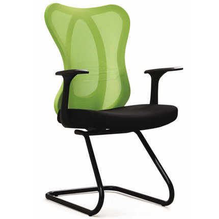 Guangzhou meeting office chair big fabric back visitor seats