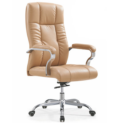 Foshan high density foam seat leather manager office chair