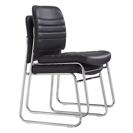 CIFF durable No arm stackable office boardroom chair PU cush