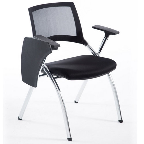 Armrest Mesh Conference Training Student Chair Writing Pad