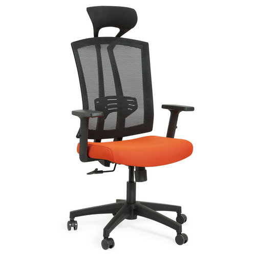 high back mesh swivel computer office chair with headrest