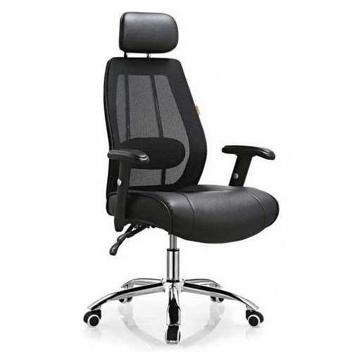 black high back mesh leather manager office chairs China