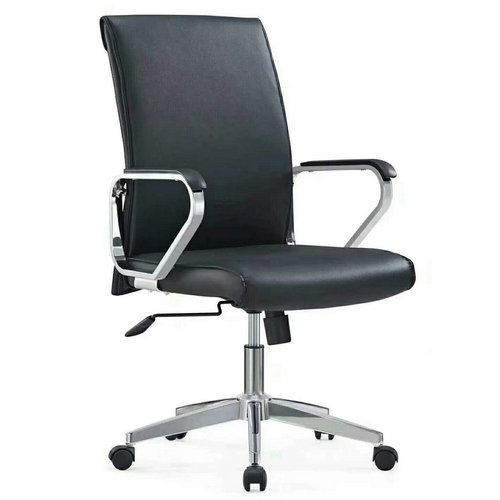 Armchair Ribbed executive high back swivel PU office chairs