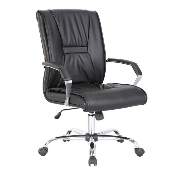 Cheap Black PU Leather Office Executive Computer Chairs