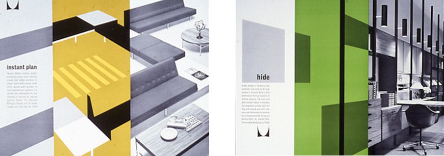 "Magazine Advertisements: ""Instant Plan,"" 1963; ""Hide Clutter,"" 1963."